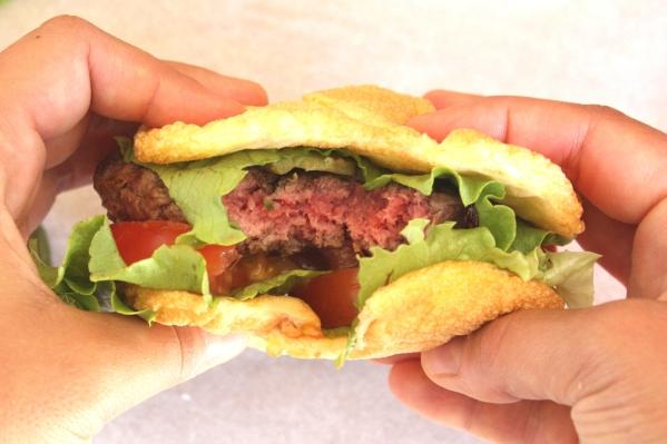burger cloud bread (4)